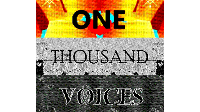 One Thousand Voices by @moshboy, 1000 game developers' Twitter thread