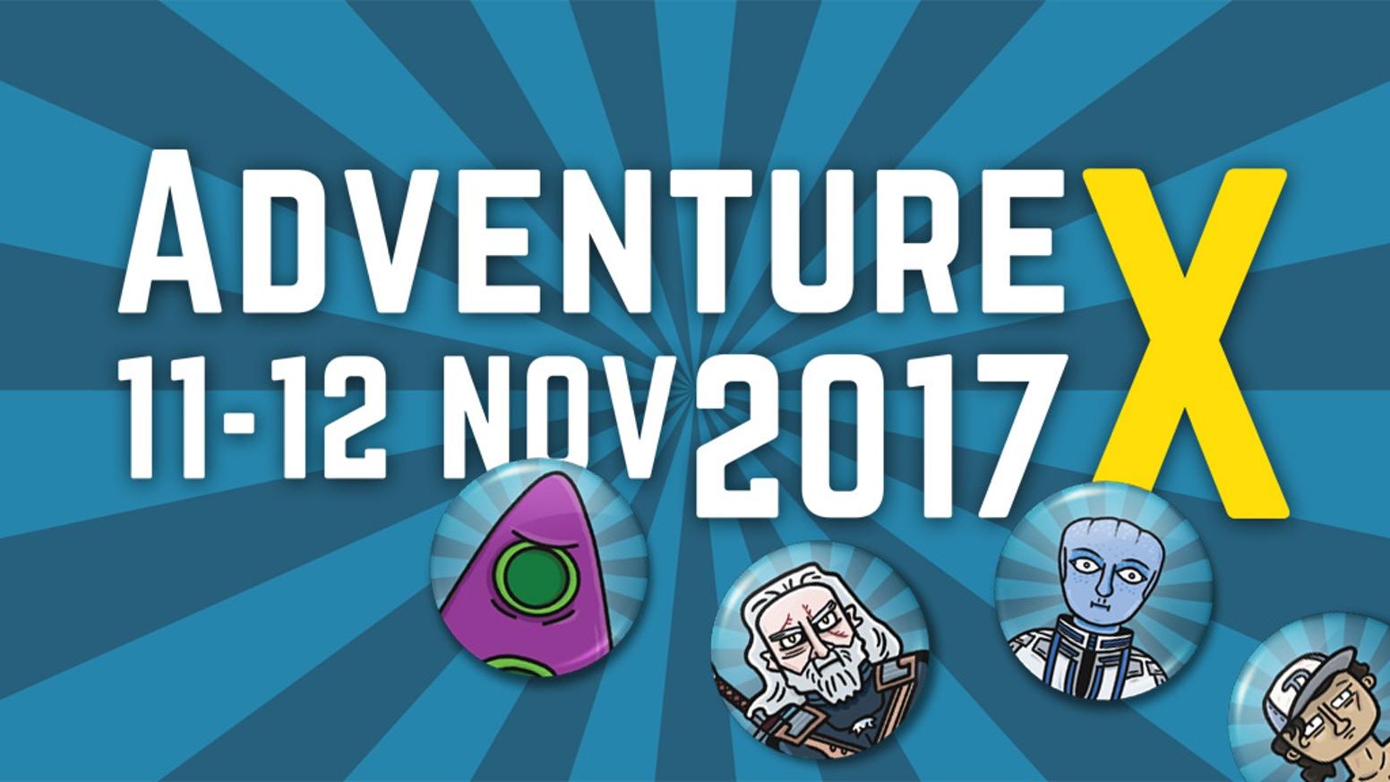 AdventureX 2017 banner